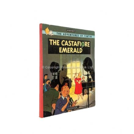 The Adventures of Tintin The Castafiore Emerald by Hergé First Edition First Impression Methuen 1963